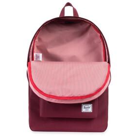 Herschel Classic rugzak rood